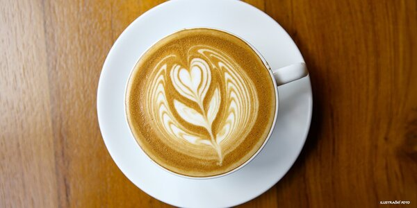 2 poctivá cappuccina a minerálky Römerquelle