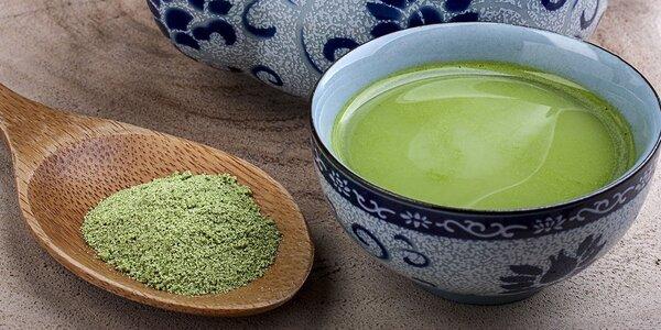 Zelený čaj Matcha plný antioxidantů