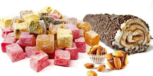 Půlkila tureckých sladkostí - různé druhy