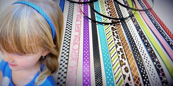 Magnetická čelenka s vyměnitelnými pásky