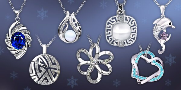 Bohatý výběr šperků s krystaly Swarovski Elements a zirkony