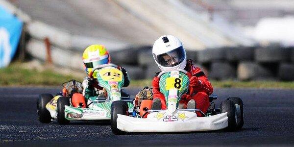 Pronájem závodní motokáry Tony Kart 60
