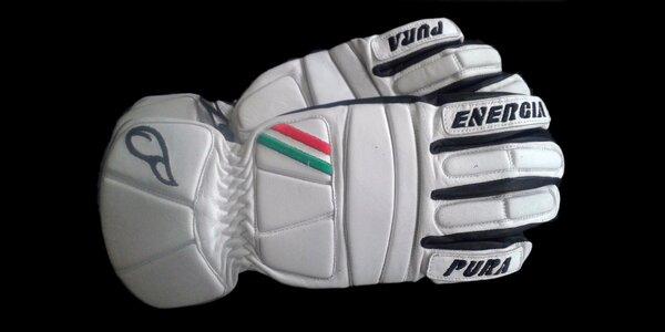 Kožené rukavice Energiapura pro lyžaře