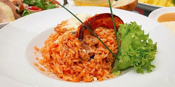 Dvě porce italských specialit dle chuti
