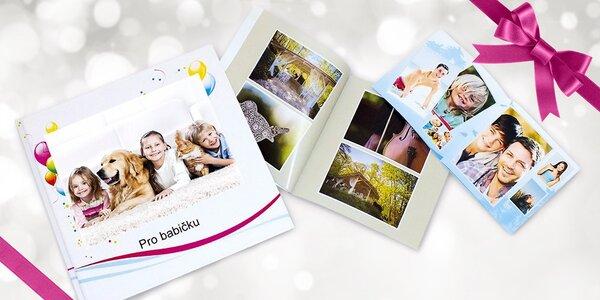 Fotokniha plná cenných vzpomínek