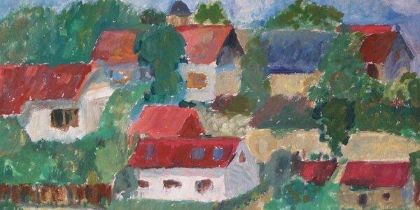 Víkendový malířský kurz Školy vidění