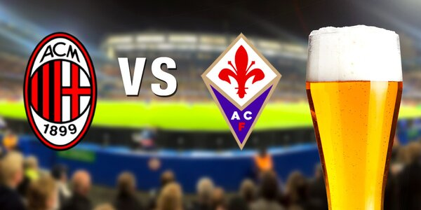 Zájezd na zápas mezi AC Milán a Fiorentinou