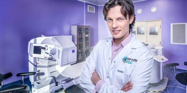 Operace očí nejnovější laserovou metodou
