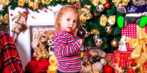 Vánoční kouzelné focení