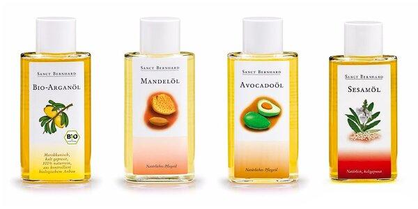 Bio oleje Sanct Bernhard pro zdraví a krásu