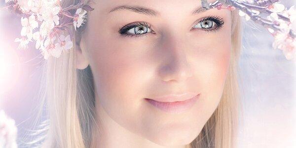 Radiofrekvenční ošetření obličeje - lifting
