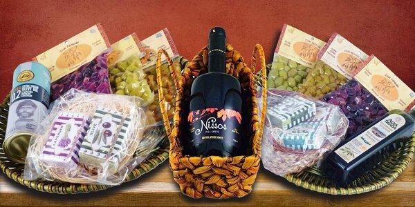Řecké speciality v dárkovém balení