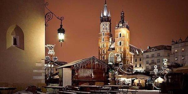 Adventní atmosféra v Krakově