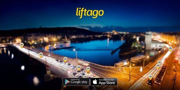 Kredit 400 Kč na jízdu s Liftago taxi