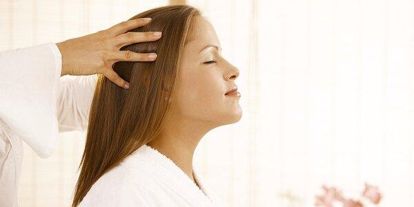 Prastará indická masáž hlavy Champi