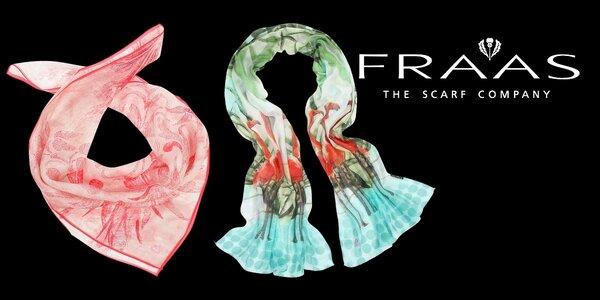 Elegantní dámské šátky Fraas