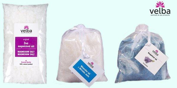 500 g české koupelové soli Velba