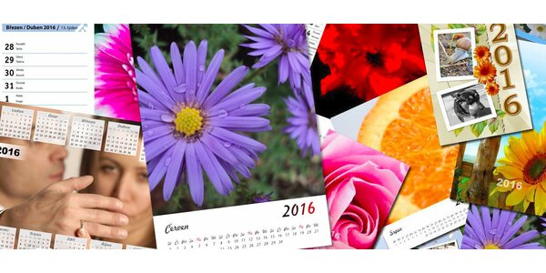 Kalendáře na rok 2016 z vlastních fotografií