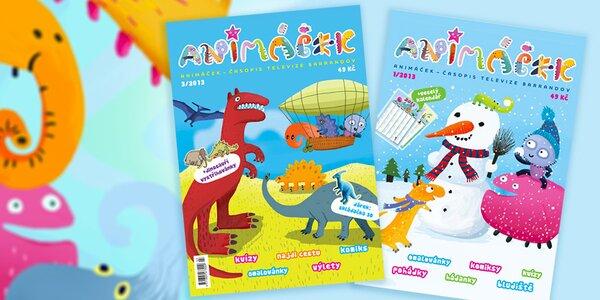 Roční předplatné dětského časopisu Animáček
