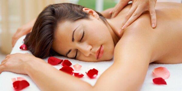 Luxusní relaxační masáž