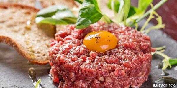 Tatarský biftek z pravé svíčkové