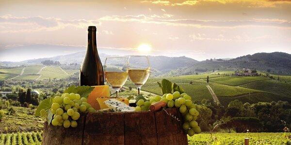 Neomezený wellness relax s degustací vín
