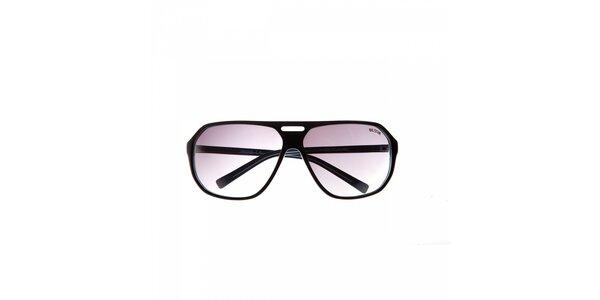 Pánské černo-modré sluneční brýle Big Star
