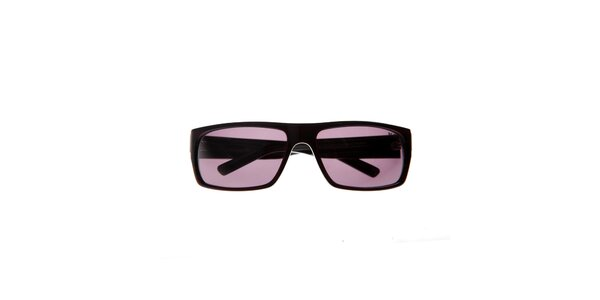 Pánské vínové sluneční brýle Big Star s žíhanou kresbou