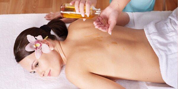 60 minutová masáž dle výběru