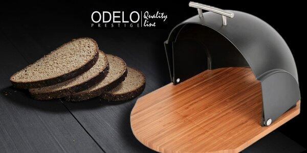 Praktický bambusový chlebník