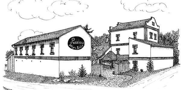 Silvestrovský pobyt v Penzionu Mlýn Sedlec