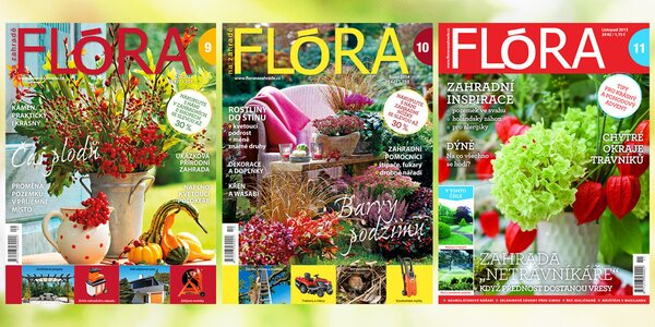 Roční předplatné časopisu Flóra na zahradě