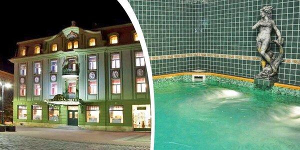 Wellness pobyt v secesním hotelu v Jičíně