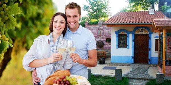 Víkendový vinařský pobyt na Moravě
