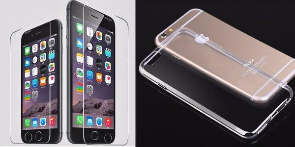 Ochranné sklo a dva kryty na chytré telefony
