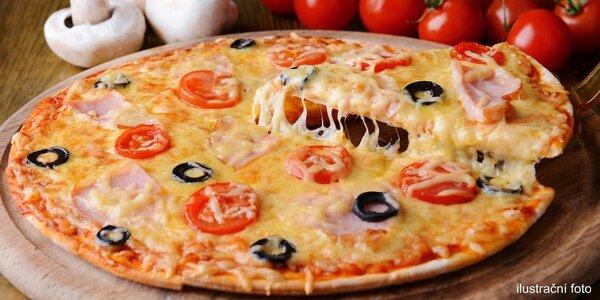 2x pizza o průměru 43 cm v King Benny
