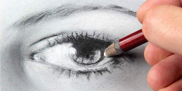 """2denní výtvarný kurz """"Nakresli portrét"""""""