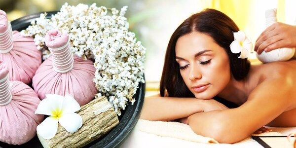 Ozdravná thajská masáž bylinnými měšci