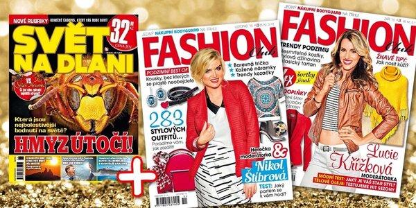 Předplatné časopisu Fashion Club až na rok + bonus