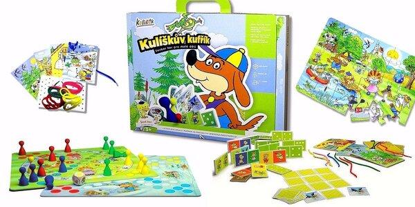 4 druhy Kulíškových dětských her od Logik