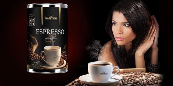 Italská káva SANTINI v dárkovém balení
