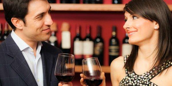 Zážitková řízená degustace vín s občerstvením