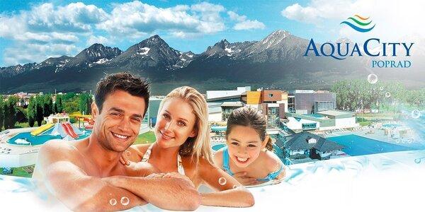 Celodenní relaxace v AquaCity Poprad