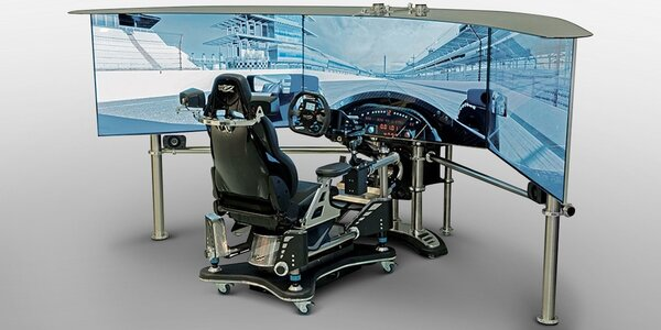 VRX Imotion - technologický zázrak automobilové simulace