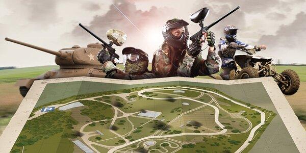 ArmyPark Ořechov – zábava ve vojenském stylu