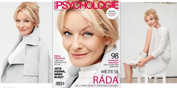 Roční předplatné časopisu Moje psychologie