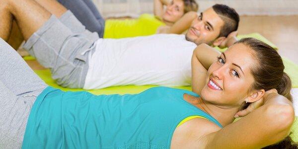Vstup na skupinové lekce fitness