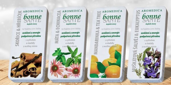 Aromaterapeutické pastilky Bonne Santé