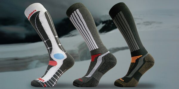 Funkční lyžařské ponožky Northman