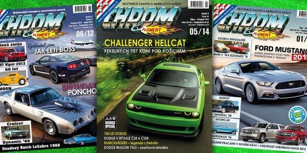Roční předplatné časopisu Chrom & Plameny